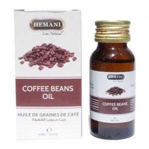 Масло холодного отжима кофейных зерен Hemani Coffee Beans Oil 30 мл