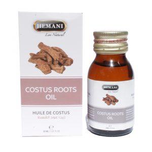 Масло корней костуса (Кыст АльХинди) холодного отжима Хемани Costus Root Oil cold pressing Hemani 30 мл 110
