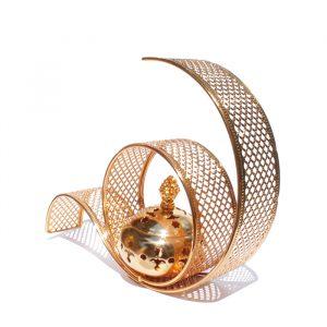 Бахурница «Бесконечность» для дома металлическая  в арабском стиле
