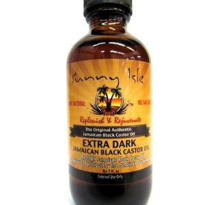 Ямайское экстра черное касторовое масло Sunny Isle Extra Dark Black Castor Oil 2 унции (59,14 мл)