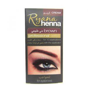 Henna for eyebrows brown Ryana Henna Краска — хна для бровей коричневая
