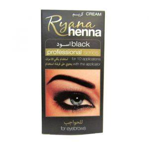 Henna for eyebrows black Ryana Henna Краска — хна для бровей черная