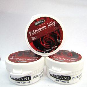 Белый вазелин с Розой Hemani Pertroleum Jelly для сухой кожи 50 грамм