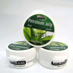 Белый вазелин с Алое Вера Hemani Pertroleum Jelly для сухой кожи 50 грамм