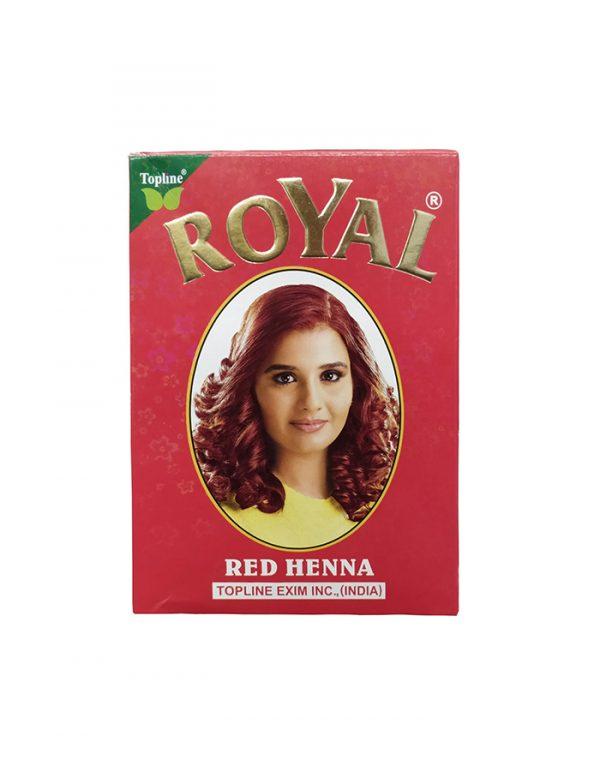 Индийская хна для волос Topline Exim Inc. Henna Royal Red