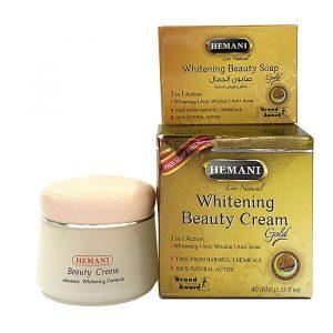 Отбеливающий крем для лица Hemani Whitening Beauty Cream Gold