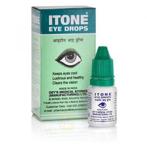 Глазные капли Ай-тон, Itone, (Индийский эликсир для глаз) 10 мл