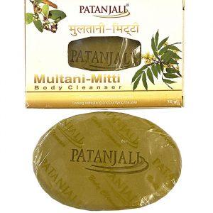 Индийское мыло с глиной Patanjali Multani Mitti 70 г