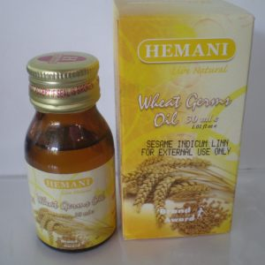 Масло зародышей пшеницы холодного отжима Хемани Wheat Germ Oil cold pressing Hemani 30 мл