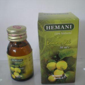 Масло лимона холодного отжима Хемани Lemon Oil cold pressing Hemani 30 мл