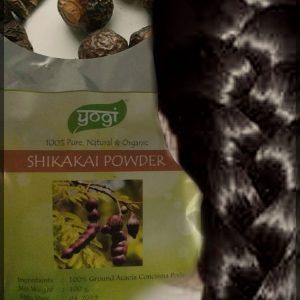 Шикакай  молотый 100 грамм Yogi Globals ( Индия, Раджастан)