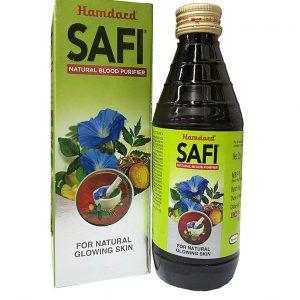 Сироп  аюрведический травяной для кожи Safi 100 мл