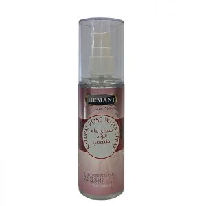 Розовая вода тонер для лица  Natural Rose Water Spray Hemani  120 мл
