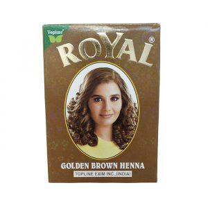 Хна индийская Henna Royal Golden Brown светло — коричневая 10 грамм