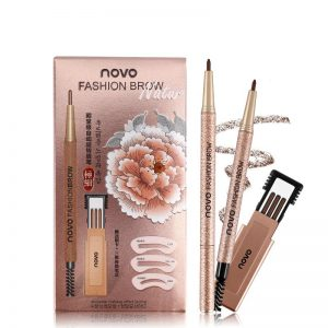 Карандаш для бровей Ново/eyebrows pencil Novo Dark brown