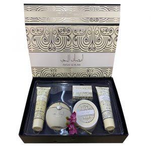 Парфюмерно — косметический сет для женщин Ard Al Zaafaran Awsaf Al Hub 100мл +