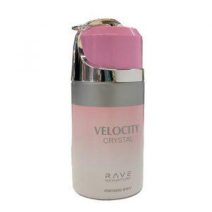 Парфюмированный дезодорант для женщин Velocity Cristal