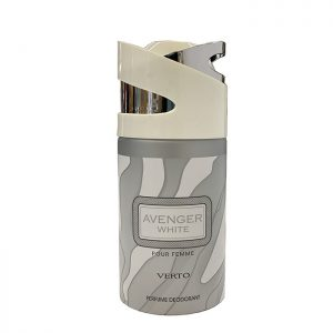Парфюмированный дезодорант для мужчин Avenger White 250 мл