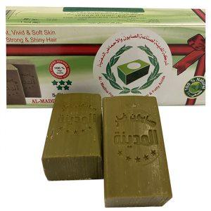 Мыло Алеппское лавровое с оливковым маслом 100грамм