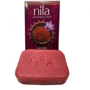 Мыло индийское с шафраном Kerala Nila  75 грамм