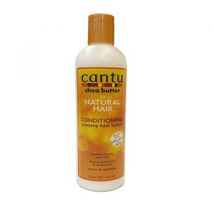 Кондиционирующий несмываемый крем-лосьон для волос  Cantu shea butter lotion 355 грамм