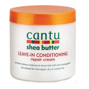Несмываемый восстанавливающий крем для волос Cantu shea butter Leave-in conditioning 453 грамма