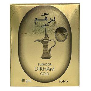 Бахур Ard aL Zaafaran Dirham Gold пряный яркий 40 грамм.