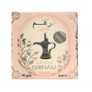 Бахур Ard al Zaafaran  Dirham Wardi  женский  цветочный аромат  40 грамм