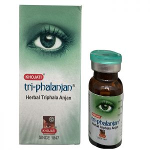 Глазные капли травяные от катаракты  Khojati Tri-phalanjan 7 мл