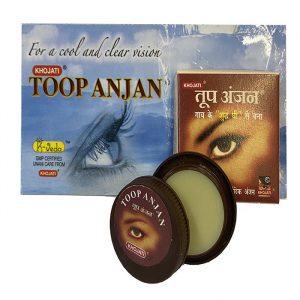 Сурьма-паста для здоровья глаз  и роста ресниц Khojati Toop Anjan 2,5 грамма