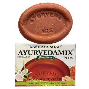Мыло индийское Ayurveda Mix Plus Kashaya Soap 75 грамм