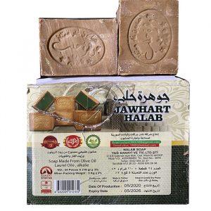 Мыло Алеппское лавровое с оливковым маслом 210 грамм
