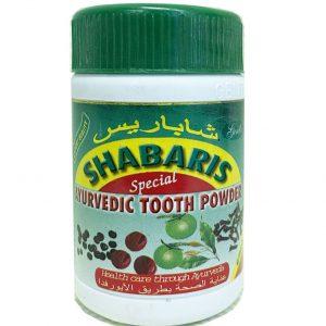 Зубной порошок аюрведический Shabaris 40 грамм