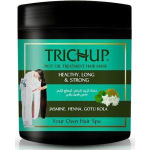 Маска для волос горячая Trichup Hot oil Gotu Kola, Henna, Jasmine   500 мл
