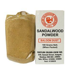 Порошок Сандала белого  Castlon ColourChem Industries  sandalwood powder 100 грамм