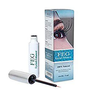 Сыворотка для роста ресниц FEG 100% натуральная 145 грн