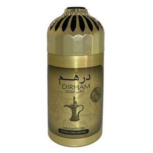 Парфюмированный дезодорант для мужчин Ard Al Zaafaran Dirham Gold 250