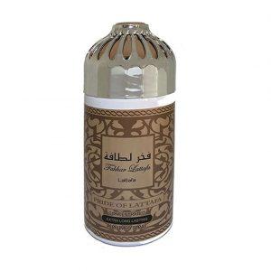 Парфюмированный дезодорант для женщин Lattafa Fakhar 250 мл