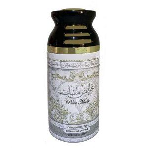 Парфюмированный дезодорант для женщин Lattafa Pure Musk 250 мл.